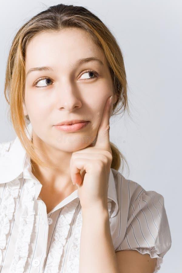 jeunes songeurs de femme photos stock