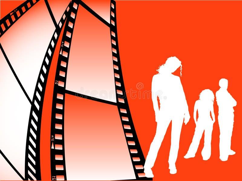 Jeunesse de bande de FIM illustration stock