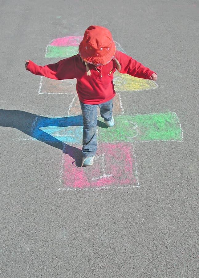 Jeux d'enfants image stock