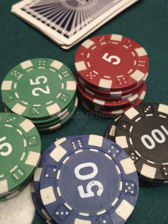 Jeux de casino photographie stock