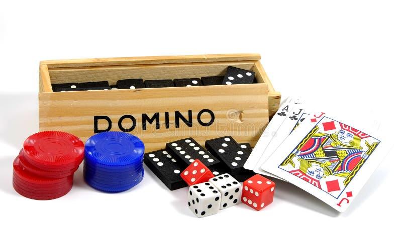 Jeux de hasard 3 photo libre de droits