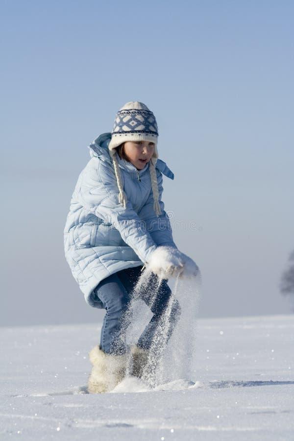 Jeux de neige photographie stock