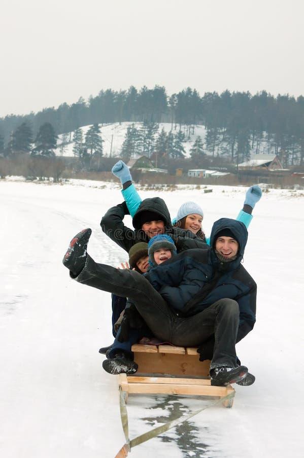 Jeux de neige images stock