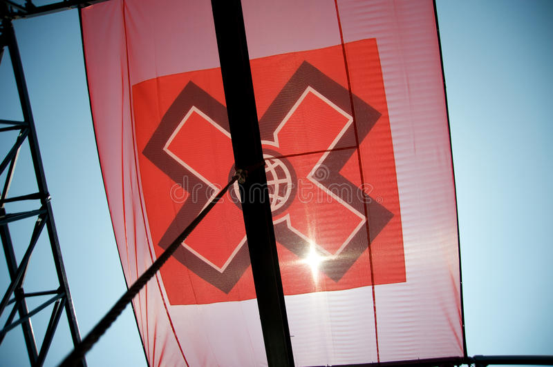 Jeux dix-sept d'ESPN X à Los Angeles image libre de droits