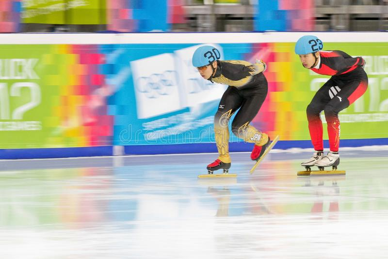 Jeux Olympiques 2012 de la jeunesse photographie stock