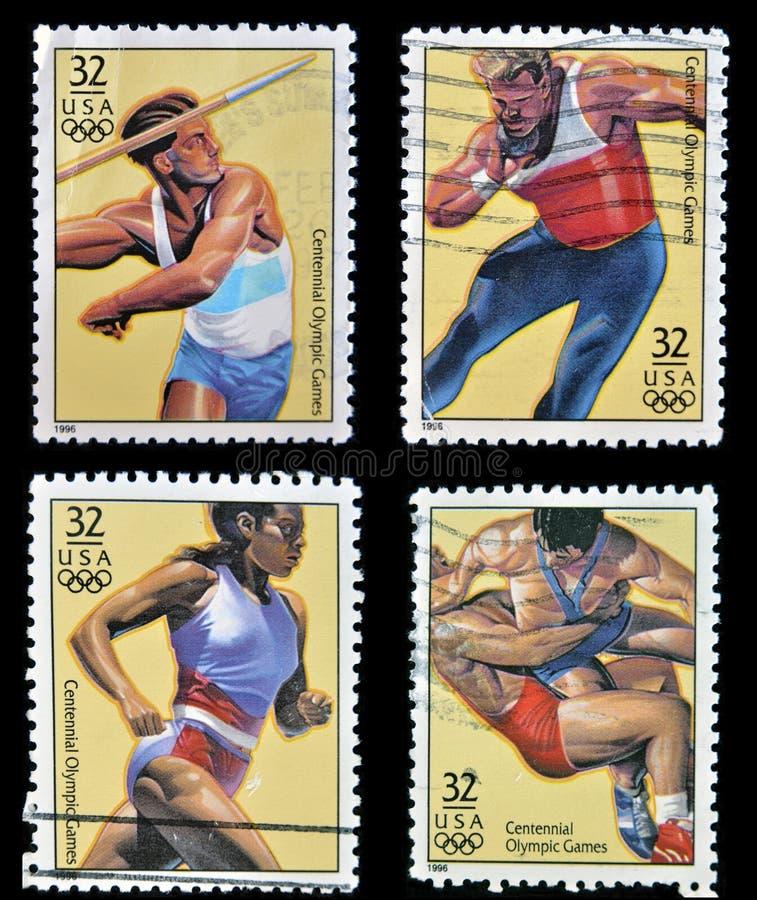 Jeux Olympiques centennaux photos libres de droits