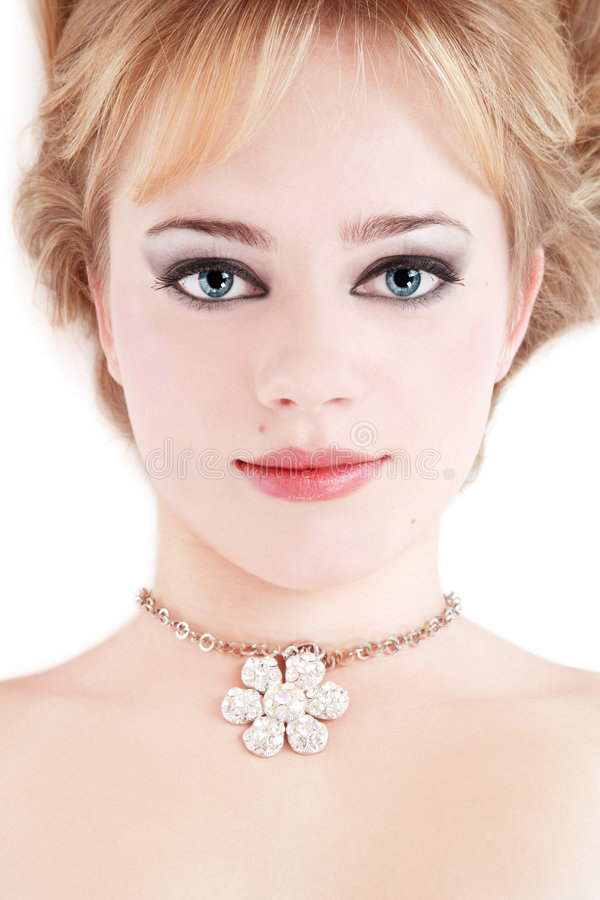 Download Jewel stock photo. Image of fashion, lady, lovely, blond - 4060620