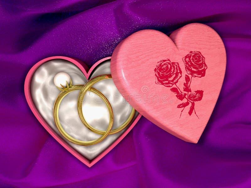 Download Jewel box stock illustration. Image of pink, event, design - 15462020
