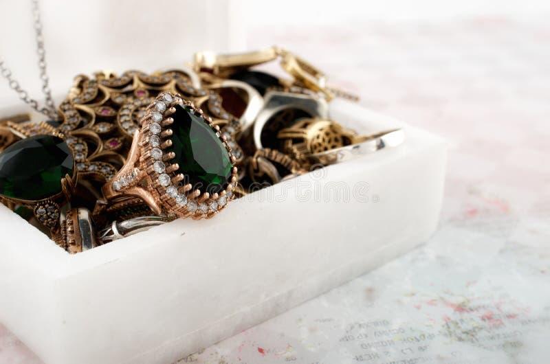 Jewel box royalty free stock photo