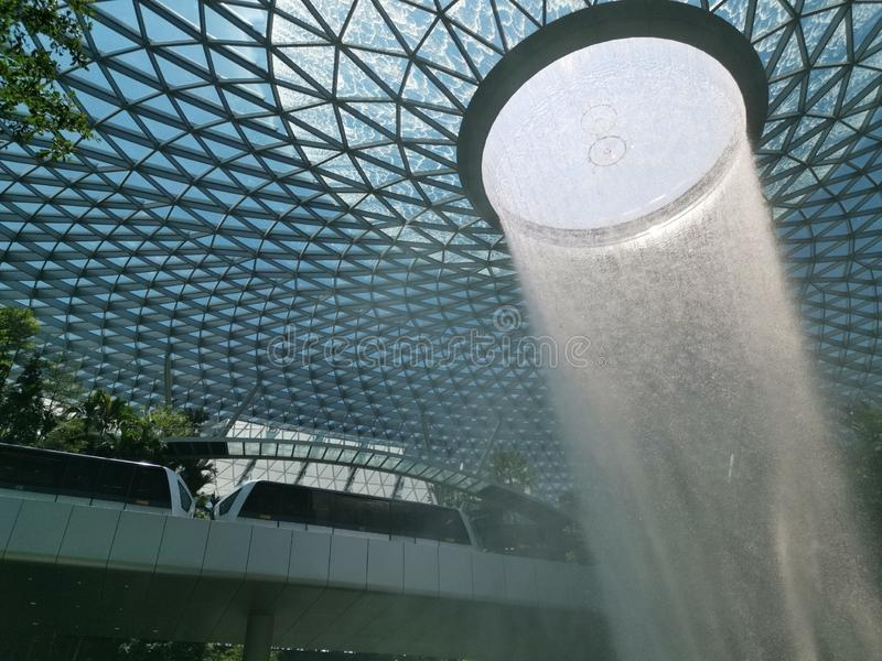 The Jewel Changi stock images