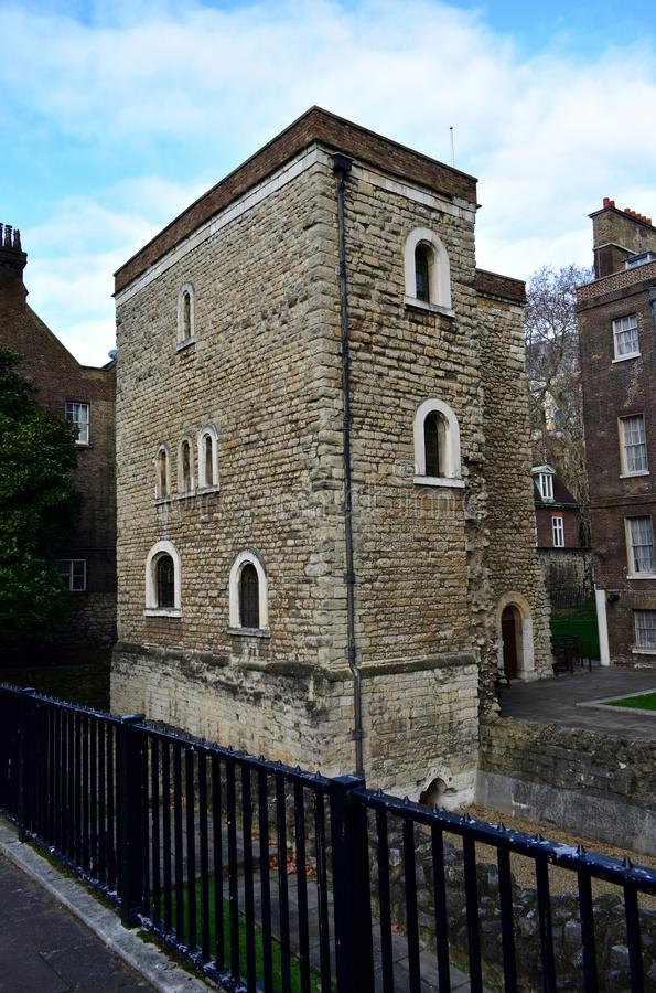 The Jewel Tower, Westminster Palace. London, United Kingdom. City of Westminster, The Jewel Tower, Westminster Palace. London, UK stock photos
