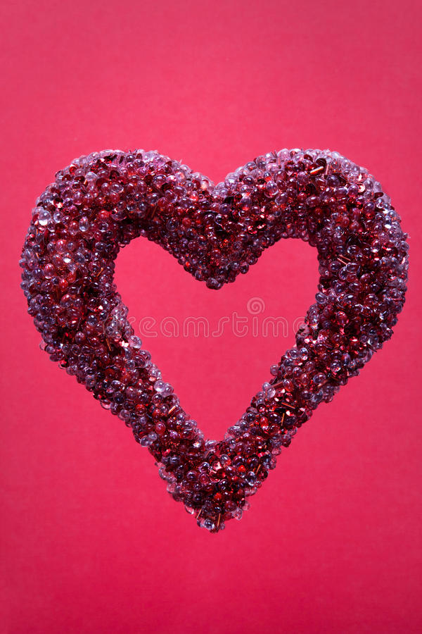 Jeweled Heart Royalty Free Stock Images