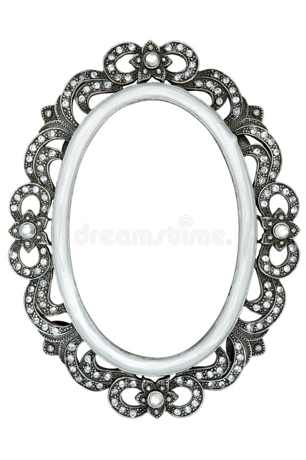 Free Jeweled Picture Frame Royalty Free Stock Photography - 4085107