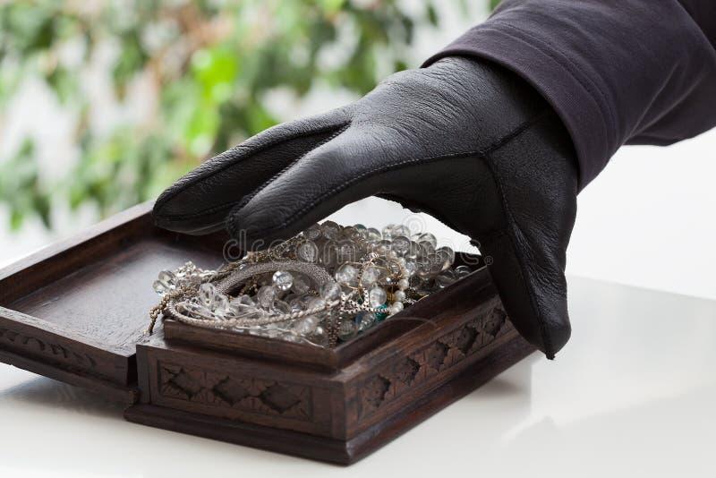 Jewelery箱子 库存照片