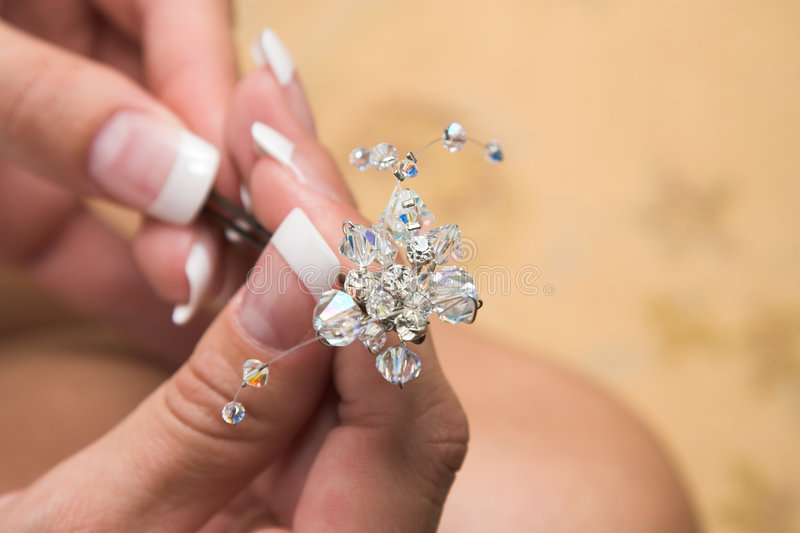 Jewelery fotografia stock