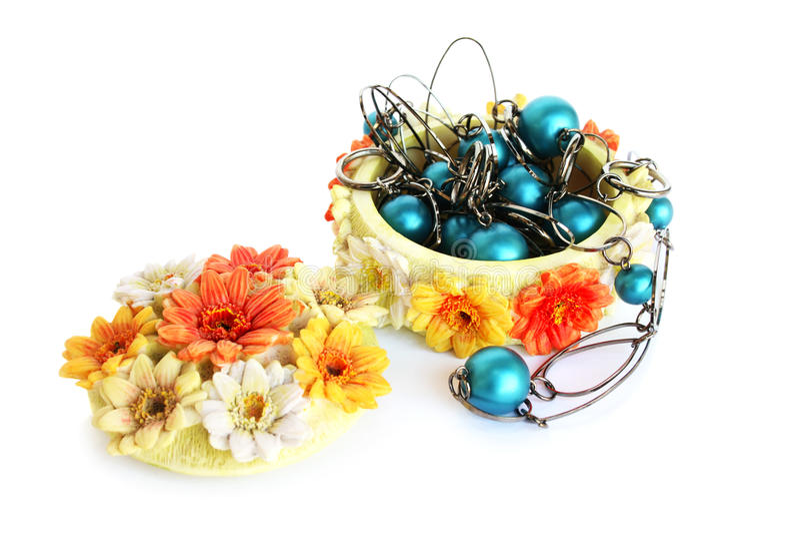 Download Jewelery box stock photo. Image of over, blue, jewel - 23288620