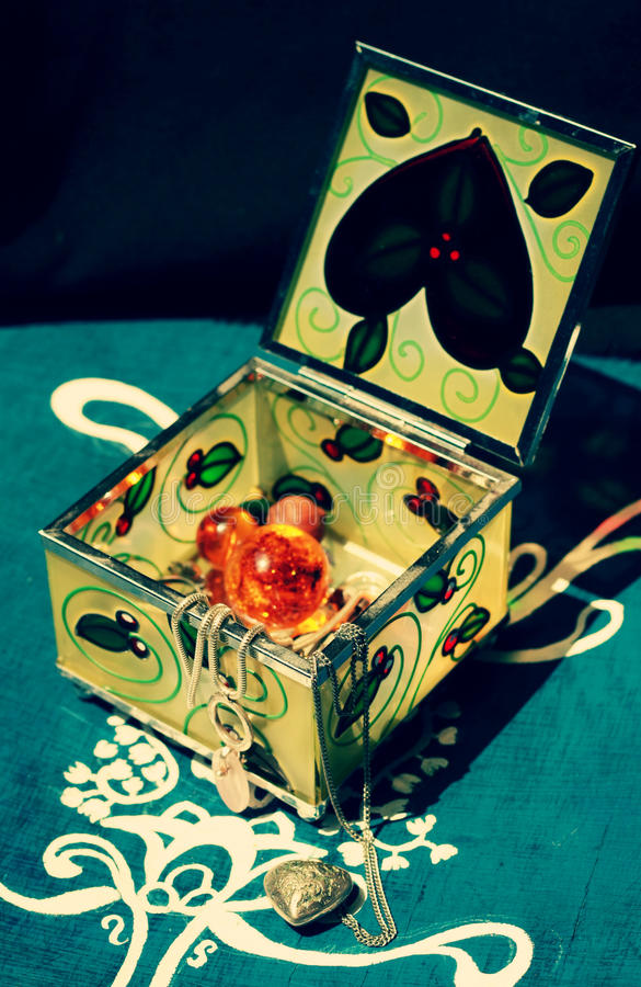 Download Jewelery Box Royalty Free Stock Images - Image: 24892619