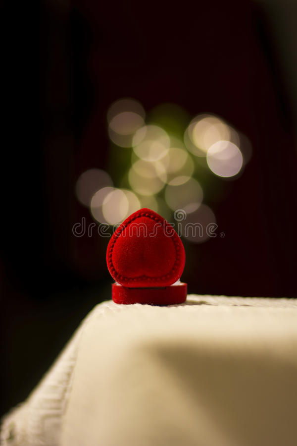 Download Jewelery Box With Blur Lights Effect Stock Photo - Image: 38849152