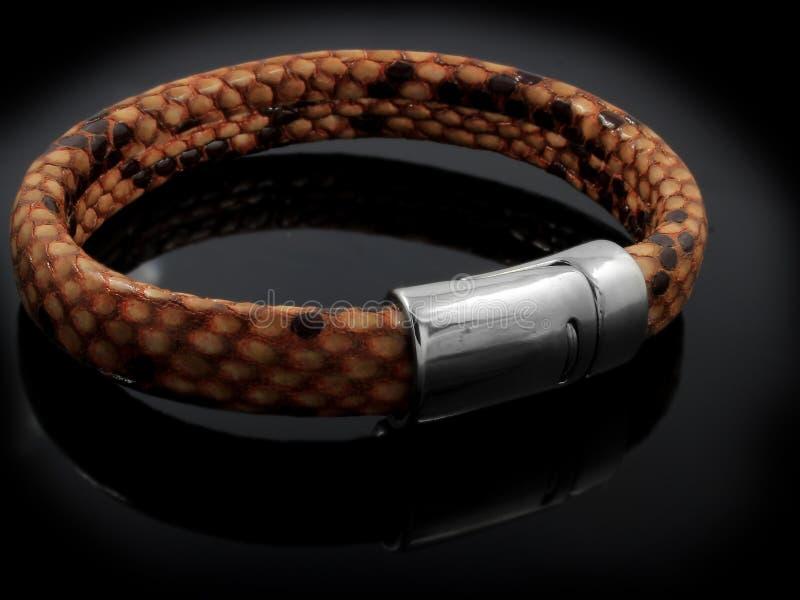 Jewelery - Bracelet for Men royalty free stock photography