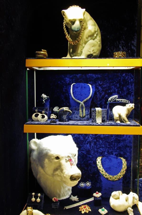 jewelery mężczyzna sklepu wempe kobiety obraz royalty free