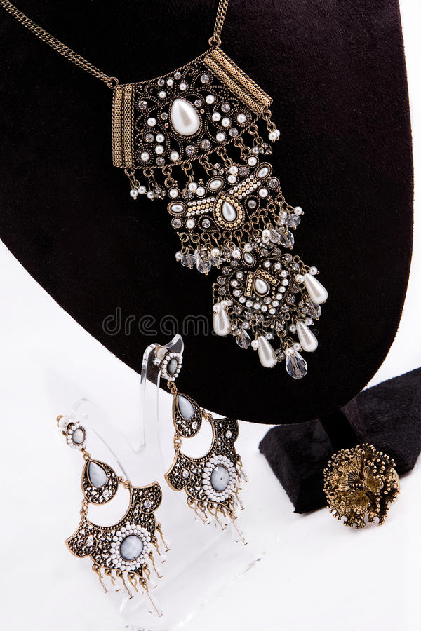 Download Jewelery Set stock photo. Image of jewel, gold, jewelery - 21138610