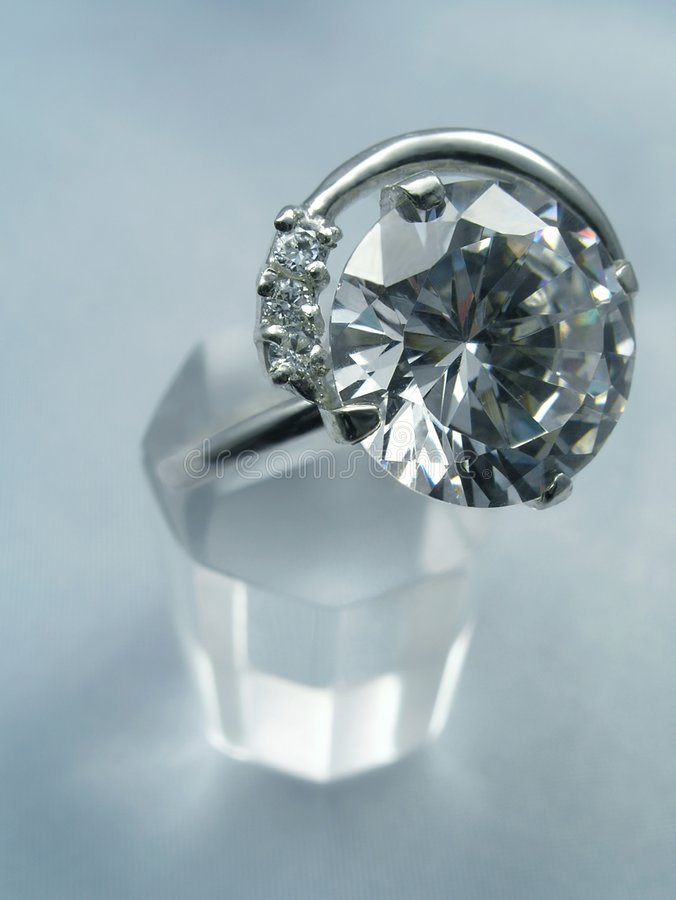 Jeweller ring royalty free stock photography