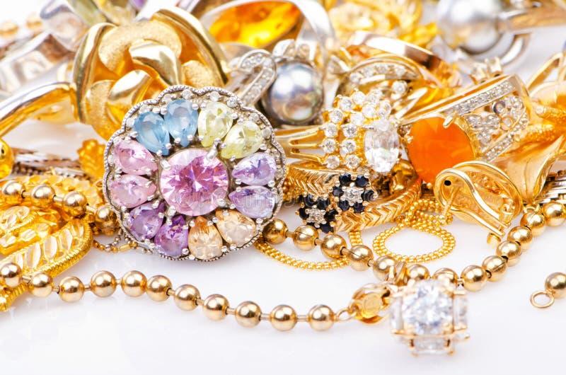Jewellery золота стоковое изображение