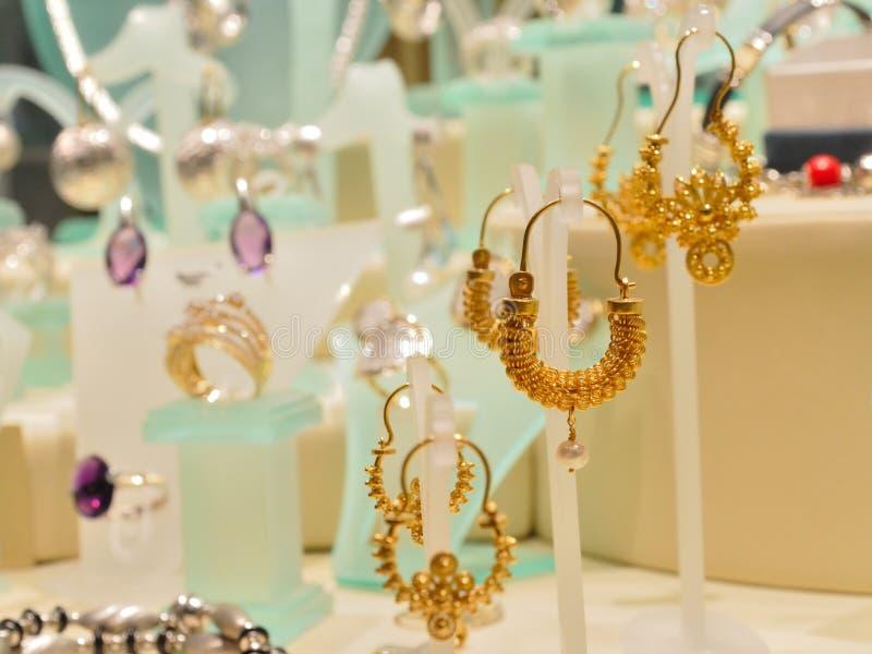 Luxurious woman jewellery royalty free stock image