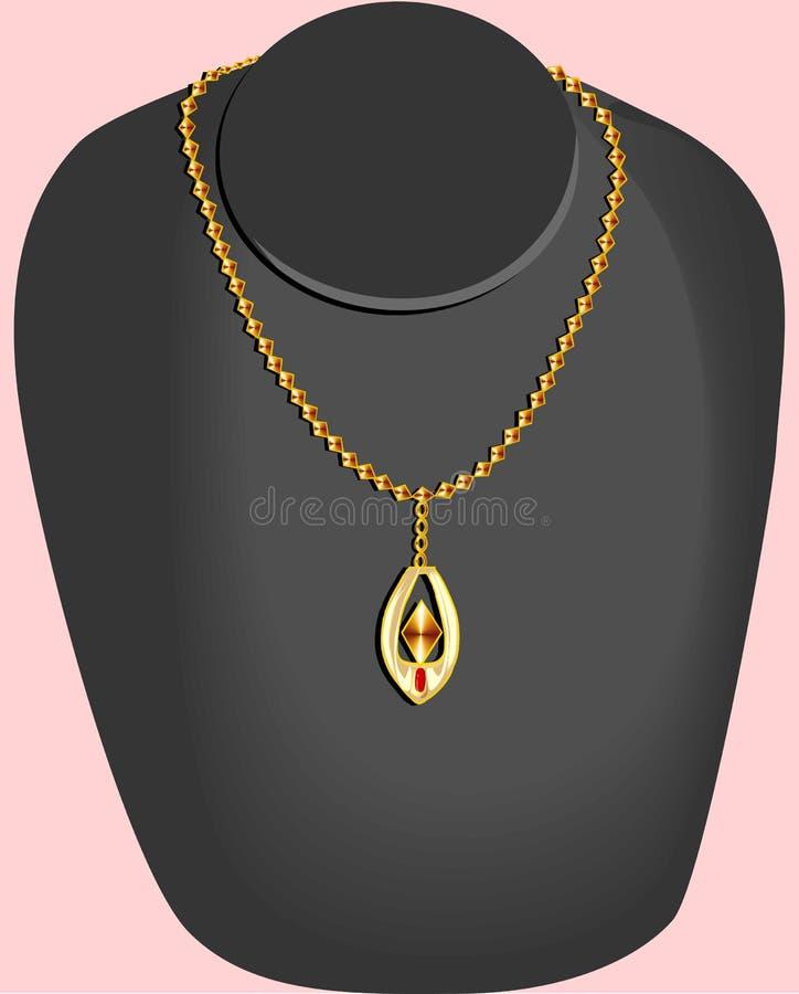 Jewellery royalty free illustration