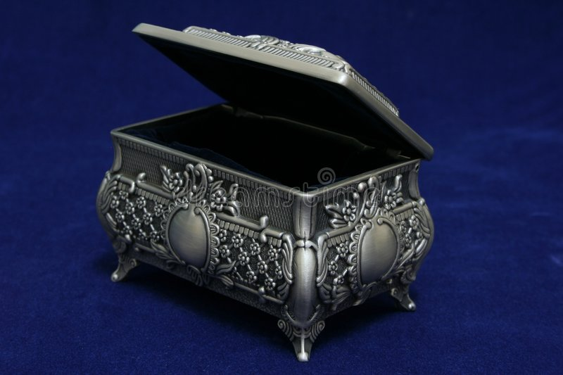 Download Jewellery Box stock photo. Image of ornament, metal, decor - 520994