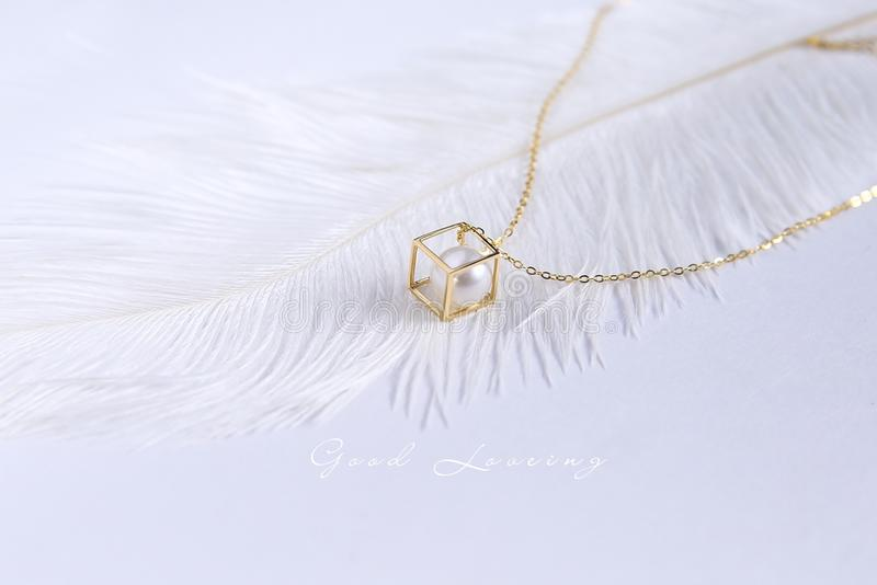 Jewellery, Necklace, Chain, Pendant royalty free stock photos