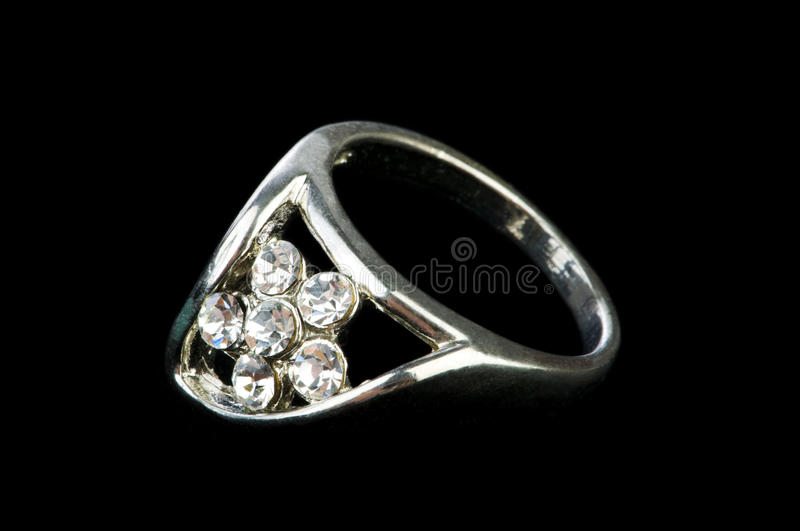 Jewellery ring royalty free stock photography