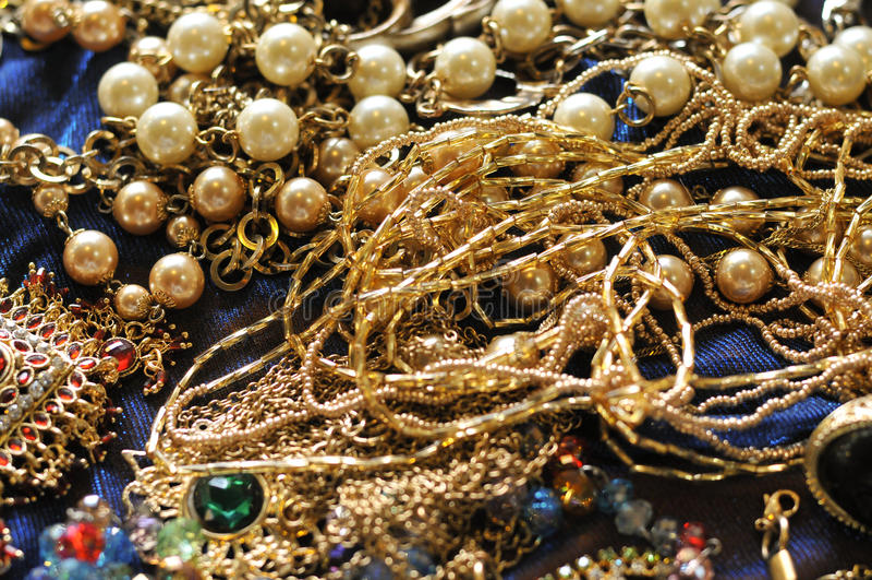 jewelries stock foto