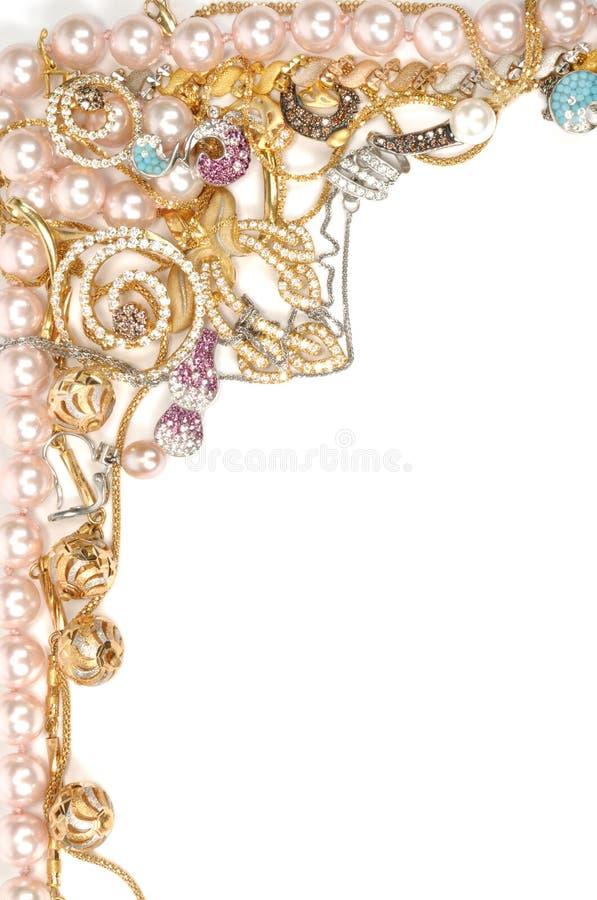 Free Jewelry Beautiful Frame Stock Photography - 16797212