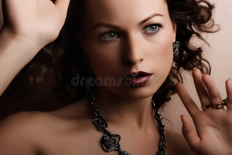 Jewelry and Beauty stock photography