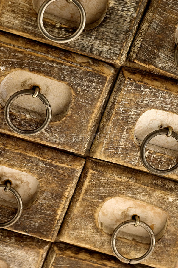 Download Jewelry case drawers stock image. Image of dark, close - 22681123