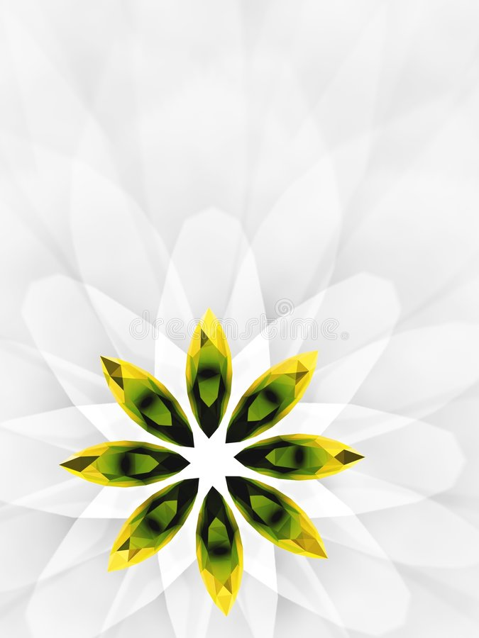 Download Jewelry flower 2 stock illustration. Image of abstract - 2201076