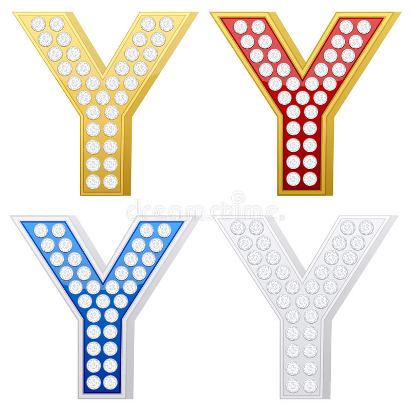 Download Jewelry Letter Y Royalty Free Stock Images - Image: 16776239