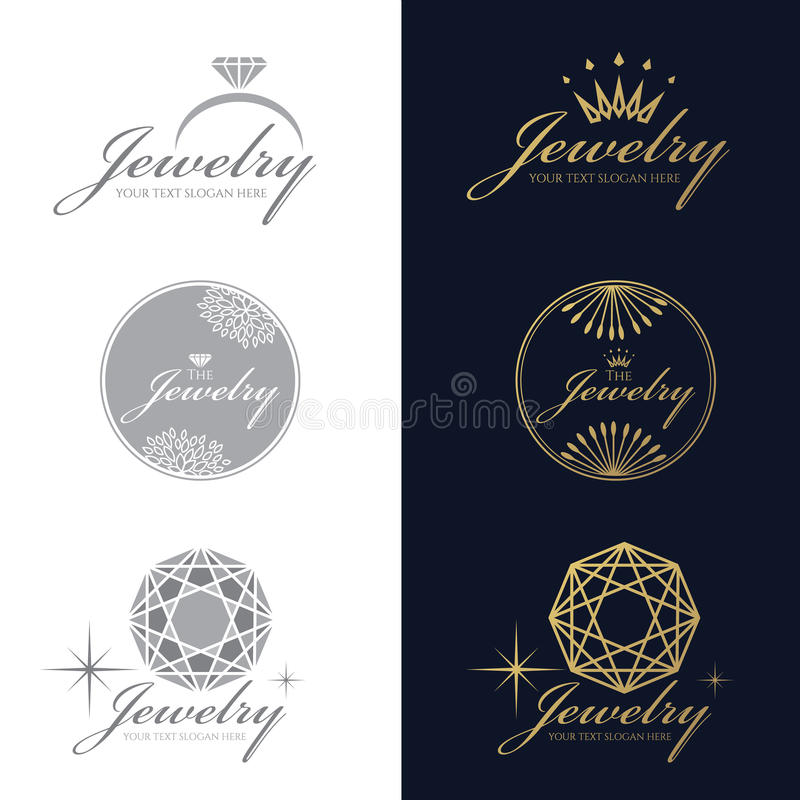 design stock diamond over colourbox white background different vector set logo collection