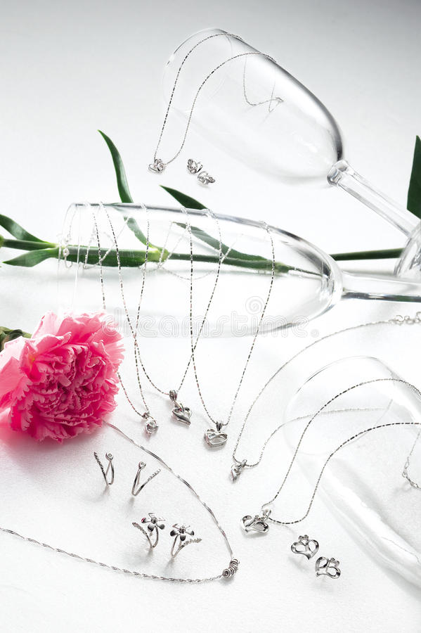 Jewelry Set stock photo