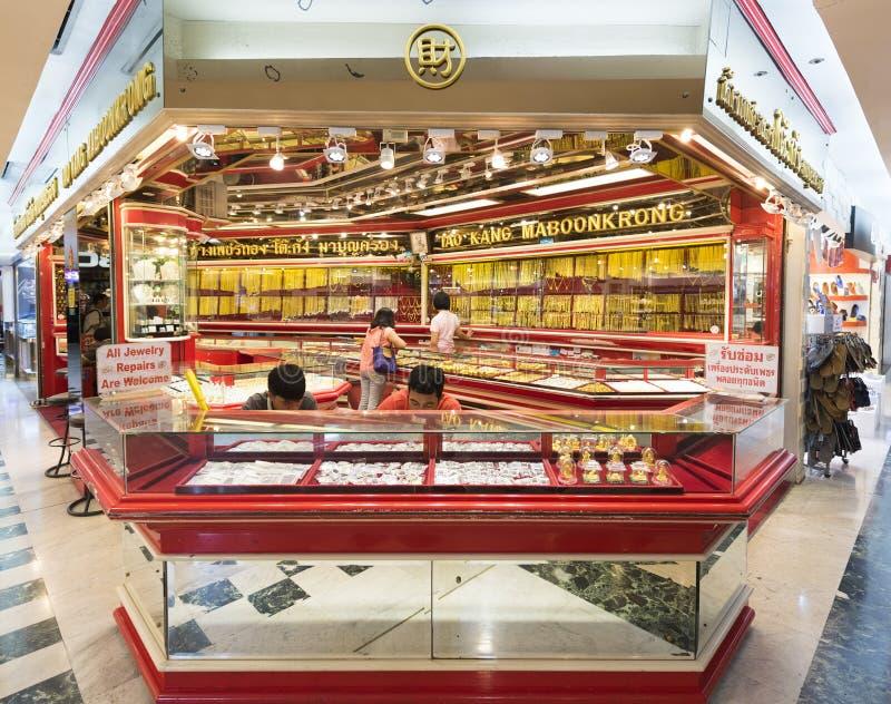 Jewelry Shop At MBK Shopping Mall Bangkok Editorial Photo Image