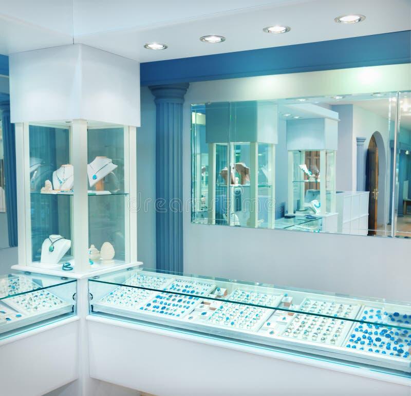 Jewelry store royalty free stock photo