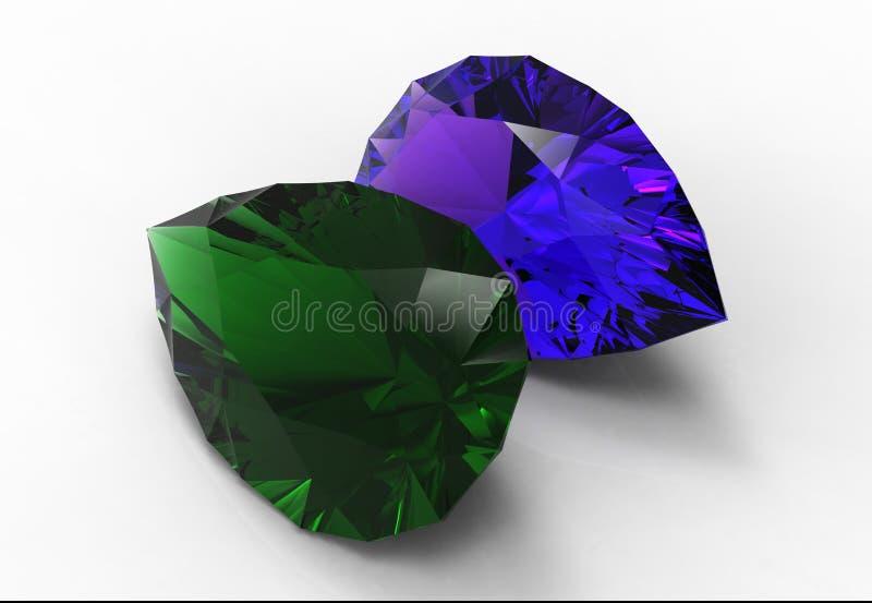 Jewels stock illustration