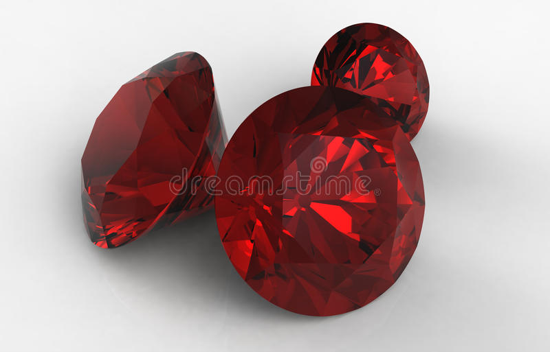 Jewels royalty free illustration
