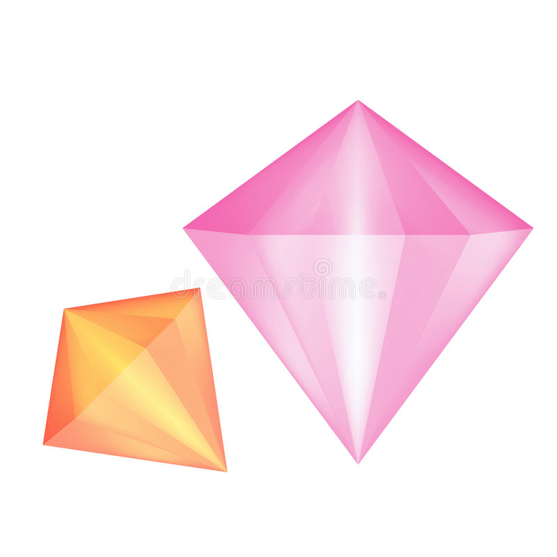 Jewels vector illustration