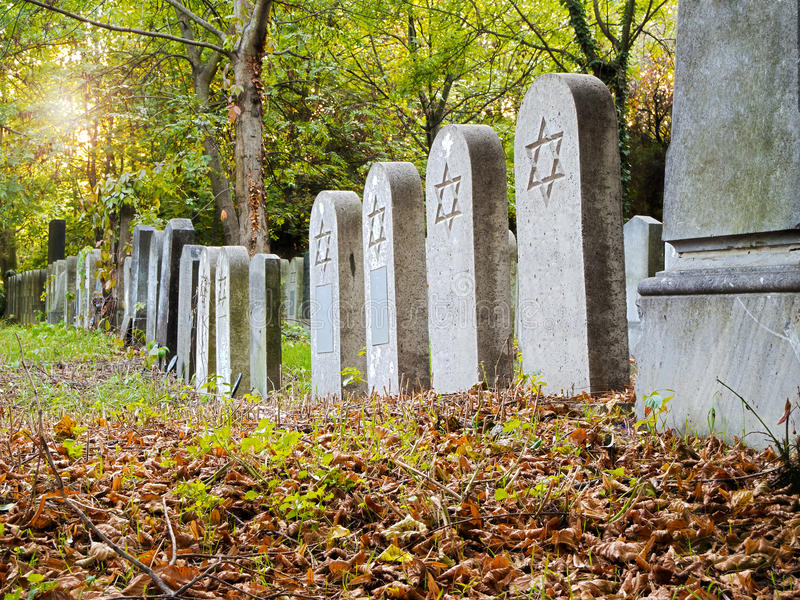 Download Jewish Cemetery stock photo. Image of burial, autumn - 21693756