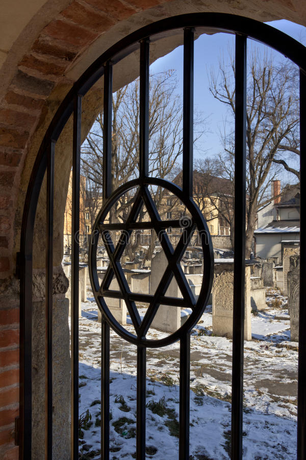 Jewish Cemetery - Krakow - Poland Royalty Free Stock Images