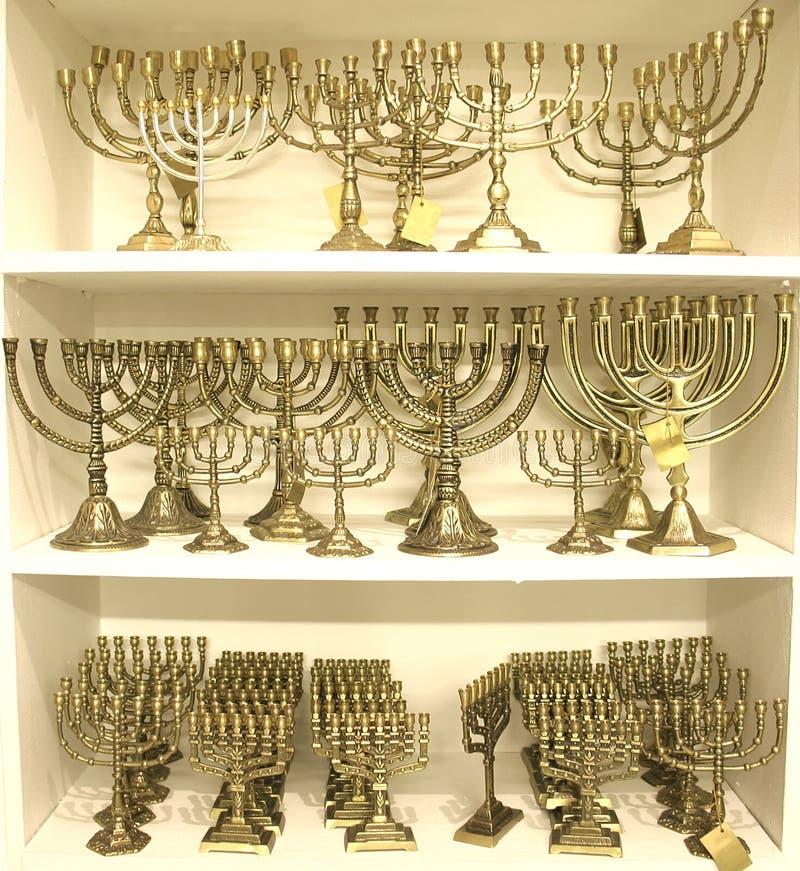 Download Jewish chandelier menorah stock image. Image of belief - 2788555
