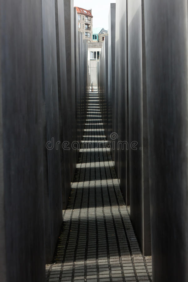 Jewish Holocaust Memorial, berlin germany stock images