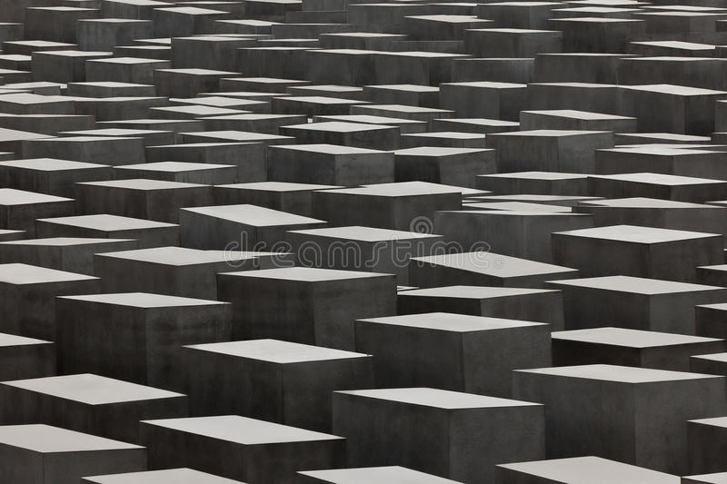 Jewish Holocaust Memorial, berlin germany stock photography